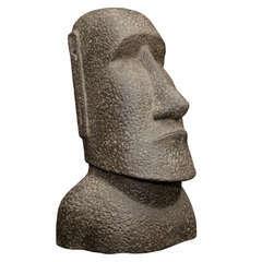 Statue de Moai H. 40 cm