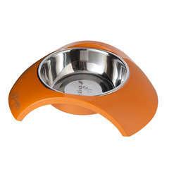 Gamelle Bowl Luna pour chien : Orange PM