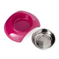 Gamelle Bowl Luna pour chien : Rose MM