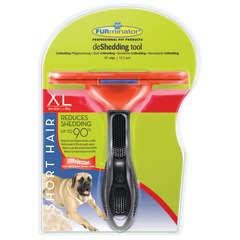 Brosse Furminator© pour chiens de très grande taille à poils courts