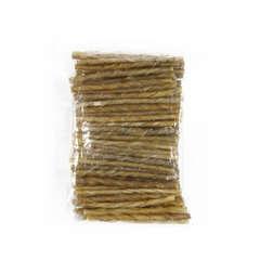 Friandise chien sticks torsadés : 7/8 mm x100
