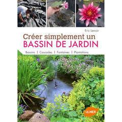 Livre: Créer simplement un bassin de jardin