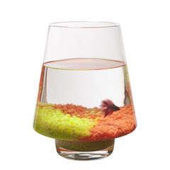 Aquarium Kofi poisson d'eau froide, transparent - 12 litres
