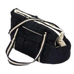 Sac de transport pour chien Vadrouille, noir 40 cm