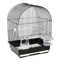 Cage Sergio en métal et plastique : Hauteur 46 cm