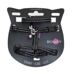 Pack Safe pour chat : harnais et laisse nylon noir