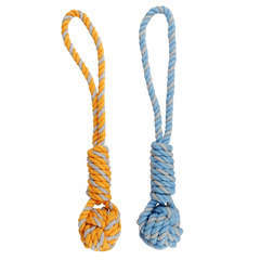 Jouet Corde traction coton pour petit chien 27 cm