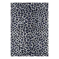 Feuille Décopatch 614 'Effet peaux d'animaux' - Noir et blanc