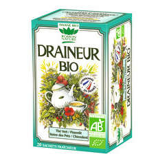 Tisane Draineur Bio, 20 sachets