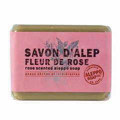 Savonnette d'Alep, 100 g - Fleur de rose