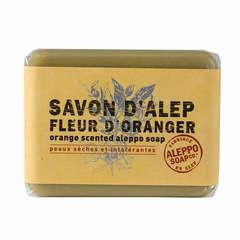 Savonnette d'Alep, 100 g - Fleur d'oranger