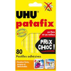 Pastilles jaunes Patafix x80, repositionnables