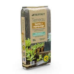 Terreau pour semis, bouturage et repiquage - sac de 15 litres