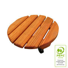 Roul'bac rond, en bois PEFC Ø 40 cm