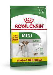 Croquettes chien SHN Mini Adult 8kg + 1kg Offert