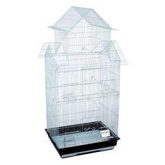 Cage Icar : Blanc Hauteur 102cm