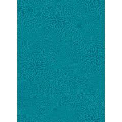 Feuille Décopatch 651 - Turquoise à motifs