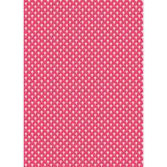 Feuille Décopatch 660 - Rose foncé à motifs