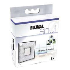 Plaquettes de filtration Fluval Shui II pour aquarium : par 3