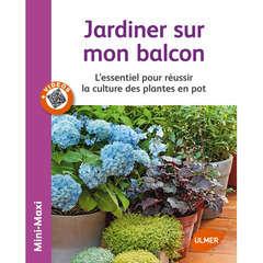 Livre: Jardiner sur mon balcon
