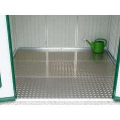 Plaque de fond pour abri HighLine H2 ou AvantGarde L, en aluminium