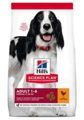 Croquettes chien Medium Advanced Fitness : Poulet 12 kg