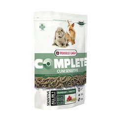 Alimention rongeurs: Cuni Sensitive Complete 500g