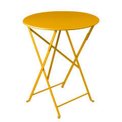 Table Bistro : Ø60cm Miel