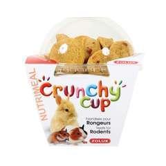 Friandises pour rongeurs: Crunchy cup, nature carotte (200g)