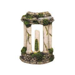 Décoration aqua terra : Colonne antique L10xl6,5xh14 cm
