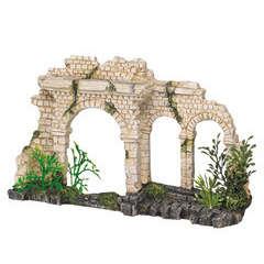 Décoration aqua terra Pont trois arches : L25xl6,5xh15 cm