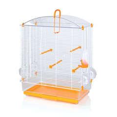 Cage à oiseaux Anita, avec bac translucide L53xl32xH67 cm