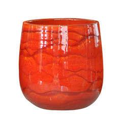 Pot Saintropp, coloris soleil couchant Ø 20 x H. 21 cm