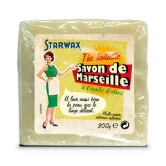 Savon de marseille à l'huile d'olive cube 300gr Fabulous