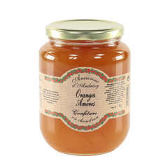 Confiture d'orange amère, le bocal d'1 kg