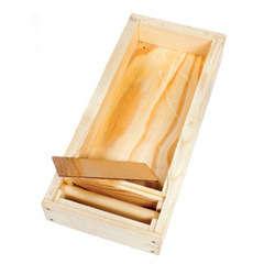 Nourrisseur bois paraffiné 5 cadres : contenance de 5 kg