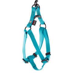 Harnais baudrier pour chien 25/35cm, turquoise