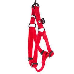 Harnais baudrier pour chien 35/50cm, rouge