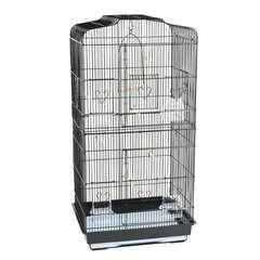 Cage Navona : Noire L47,5xl36xH91 cm