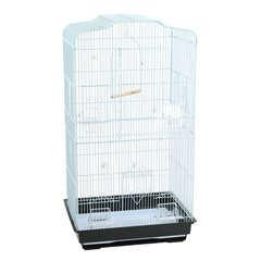 Cage Navona : Blanche L47,5xl36xH91 cm