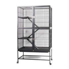 Cage combi pour rongeurs,oiseaux Nothing Hill : L80xl54xh137,5 cm