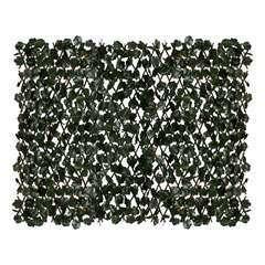 Treillis extensible 'Feuillage', en bois - l.90 x H.122 cm