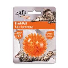 Jouet pour chat: Balle lumineuse, en plastique