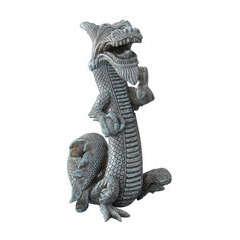 Décoration d'aquarium balinese dragon : L11xl13xH21 cm