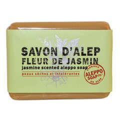Savonnette d'Alep, 100 g - Fleur de jasmin