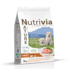 Nutrivia Nature Aliments complet pour chiot : 3kg