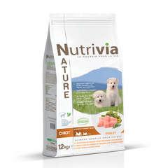 Nutrivia Nature Aliments complet pour chiot : 12kg