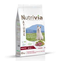 Nutrivia Nature Aliments complet pour chien : Canard 12 kg