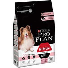 Croquettes chien adulte Peau sensible avec Optiderma : 3 kg