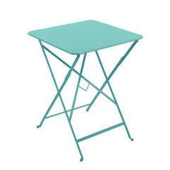 Table Bistro : L.57cm Bleu Lagune